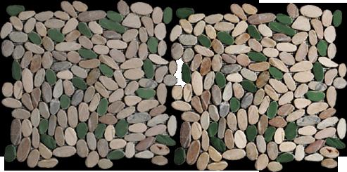 pebble tiles - indonesia