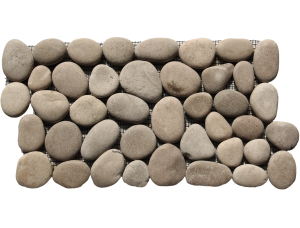 maluku Tan pebble borders