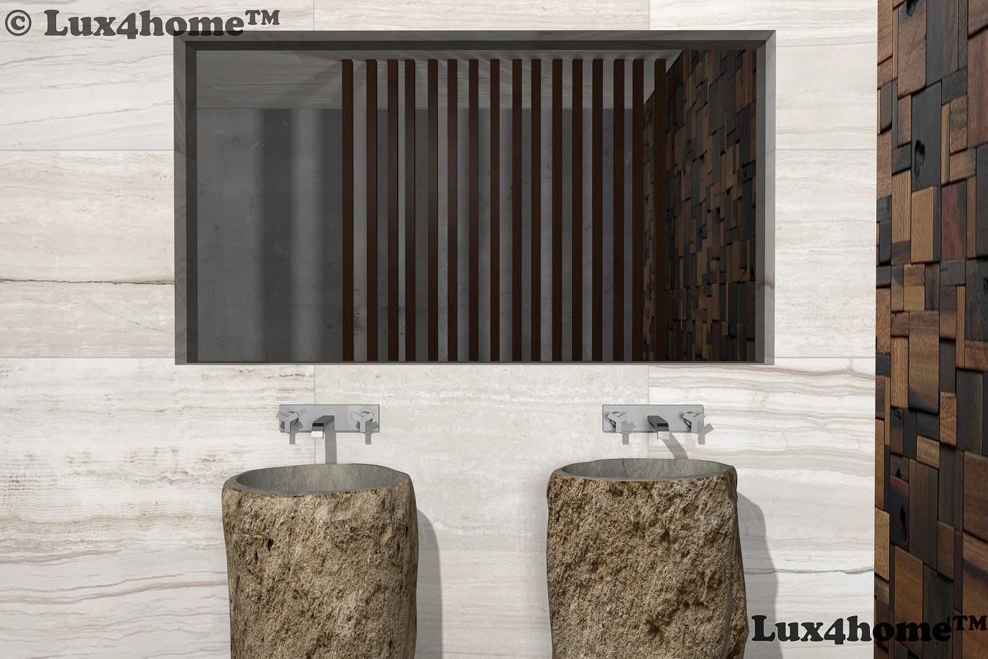 soaking bath of stone