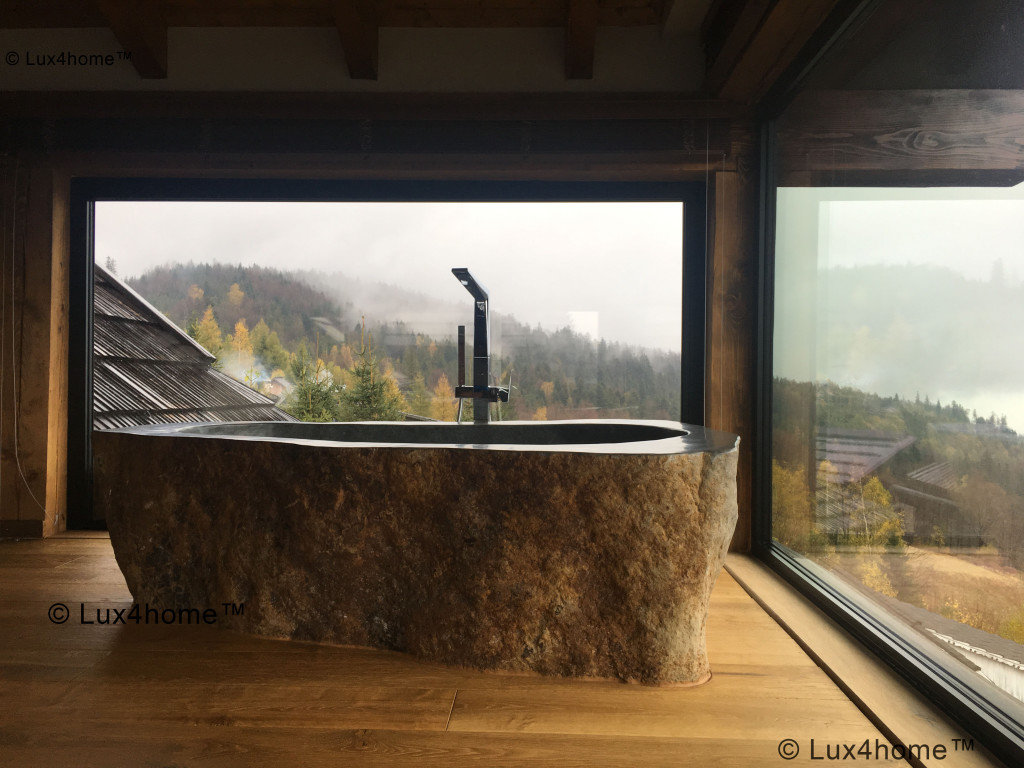 River Stone Bathtub - Natural stone bathtubs