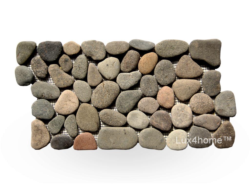 Pebble borders