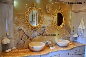 Yellow Onyx sink vessel - onyx wash basin