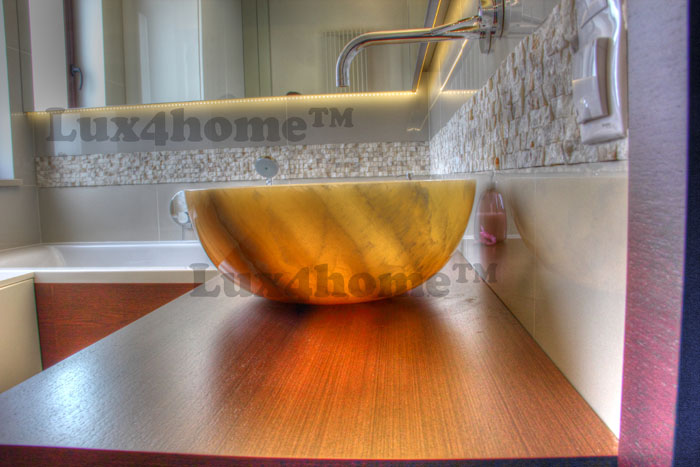 Onyx wash basins - onyx sinks