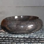Round Countertop marble Sinks