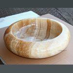 Round Countertop Onyx Sinks
