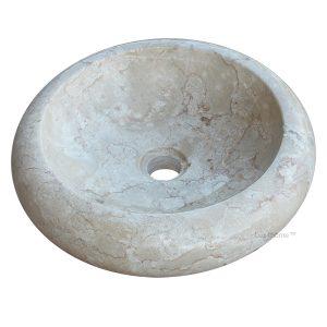 Round Countertop Stone Sink