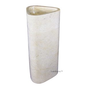 Cream Stone Sinks free standing