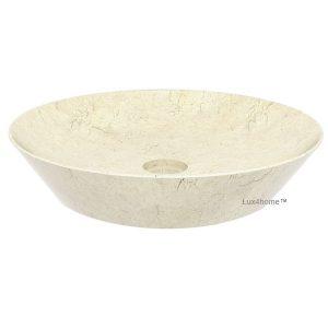 Round Marble Stone Washbasin