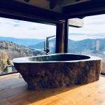 stone freestanding bath sale
