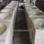 freestanding marble stone washbasin