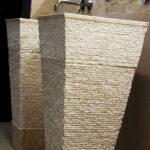 pedestal stone wash basin
