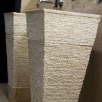pedestal stone wash basins