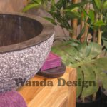 Black Marble Wash Basin - Black marble sinks