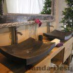 Black Marble Washbasins
