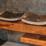 Black Stone Sink - Black Marble Washbasins