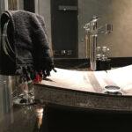 Black Stone Sink - Stone Vessel Sink
