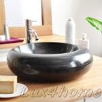 Countertop Black Stone Washbasin