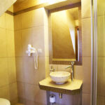 bathroom sink stone basin