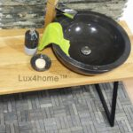 Black Marble Bowl Sink
