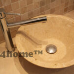 marble stone bathroom sink