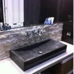 stone marble vessel washbasin