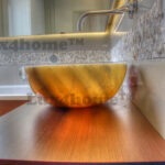 Lighted Onyx washbasin