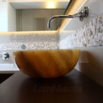 Lighted Onyx Sink