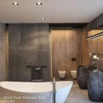 Pedestal Stone Sinks