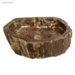 Petrified wood stone sinks for sale