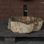 Petrified wood sink - Petrified wood wash basin