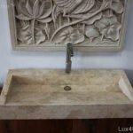 Long Stone Marble Wash Basin
