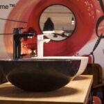 Round Stone Sinks