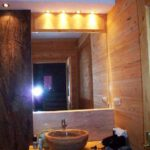 Vanity onyx sink