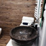 Black Vessel Stone Sink