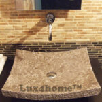 Grey Stone Washbasin