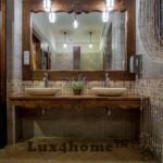oval stone bathroom sinks