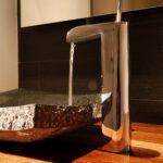 flat marble sink