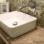 Bathroom pebble tiles ideas