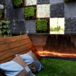 Black Pebble Tile outdoor ideas