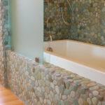 Green Pebble Tile Mosaic