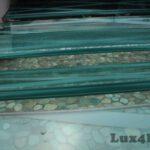Green pebbles outdoor - Pebble tiles ideas