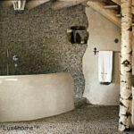 Dark Grey Pebble Tiles interior