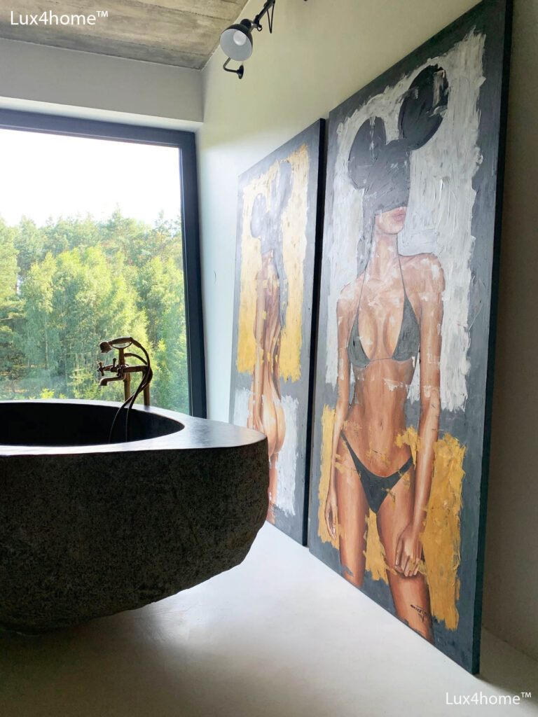 Natural Stone Bath Tub