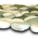 White Green Pebble Mosaic producer