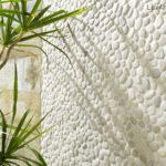 White pebble Tiles mosaic
