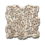 Flat pebble tiles manufacturer
