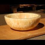 Round Onyx Washbasins