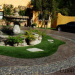 Mixed Pebble tile outdoor ideas