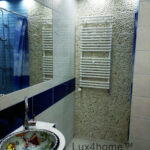 Pebble Tile Bathroom wall - pebble on walls