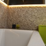 bathroom pebbles - Beige Pebble Tile